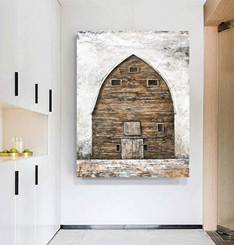 Yihui Arts Farmhouse Rustic Wall Decor Canvas Wall Art Painting Pictures For Kids Room Multi D 28Wx20L 0 2
