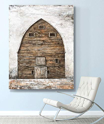 Yihui Arts Farmhouse Rustic Wall Decor Canvas Wall Art Painting Pictures For Kids Room Multi D 28Wx20L 0 3