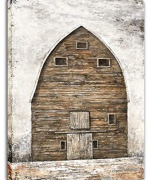 Yihui Arts Farmhouse Rustic Wall Decor Canvas Wall Art Painting Pictures For Kids Room Multi D 28Wx20L 0 300x360