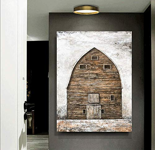 Yihui Arts Farmhouse Rustic Wall Decor Canvas Wall Art Painting Pictures For Kids Room Multi D 28Wx20L 0 4