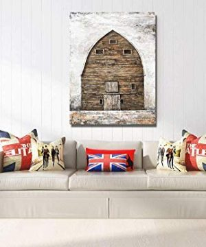 Yihui Arts Farmhouse Rustic Wall Decor Canvas Wall Art Painting Pictures For Kids Room Multi D 28Wx20L 0 5 300x360