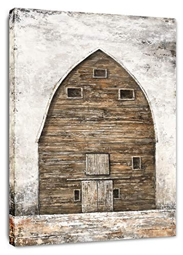 Yihui Arts Farmhouse Rustic Wall Decor Canvas Wall Art Painting Pictures For Kids Room Multi D 28Wx20L 0