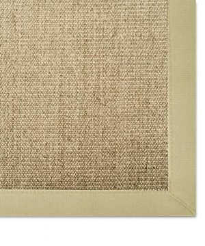 Casa Pura Sisal Rug Runner 100 Natural Fiber Area Rug Non Skid Rustic Entryway Rug Living Room Carpet Or Kitchen Rugs And Sizes Natural 6x9 0 0 300x360