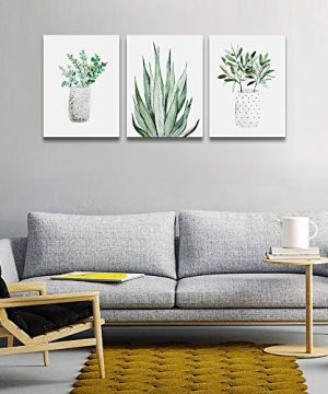Farmhouse Wall Art Painting For Dining Room Bathroom Abstract Canvas Art Family Wall Decor For Bedroom Kitchen Wall Decoration Living Room Decor Art Green Leaf Pictures Artwork For Home Walls 3 Piece 0 1 300x360