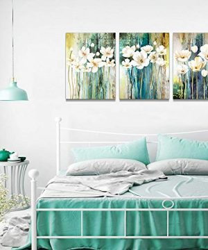 Farmhouse Wall Art Painting For Dining Room Bathroom Abstract Canvas Art Family Wall Decor For Bedroom Kitchen Office Wall Decoration Living Room Decor Flowers Pictures Artwork For Home Walls 3 Piece 0 3 300x360