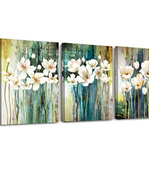 Farmhouse Wall Art Painting For Dining Room Bathroom Abstract Canvas Art Family Wall Decor For Bedroom Kitchen Office Wall Decoration Living Room Decor Flowers Pictures Artwork For Home Walls 3 Piece 0 300x360