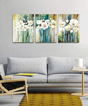 Farmhouse Wall Art Painting For Dining Room Bathroom Abstract Canvas Art Family Wall Decor For Bedroom Kitchen Office Wall Decoration Living Room Decor Flowers Pictures Artwork For Home Walls 3 Piece 0 4 300x360
