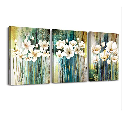Farmhouse Wall Art Painting For Dining Room Bathroom Abstract Canvas Art Family Wall Decor For Bedroom Kitchen Office Wall Decoration Living Room Decor Flowers Pictures Artwork For Home Walls 3 Piece 0