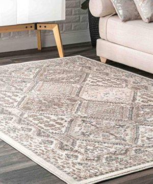 NuLOOM Becca Vintage Tile Area Rug 4 X 6 Beige 0 300x360