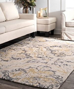 NuLOOM Cortney Floral Area Rug 4 X 6 Ivory 0 300x360