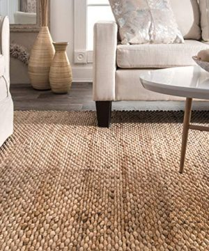 NuLOOM Hailey Handwoven Jute Rug 5 X 8 Natural 0 0 300x360