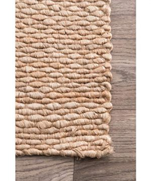 NuLOOM Hailey Handwoven Jute Rug 5 X 8 Natural 0 1 300x360
