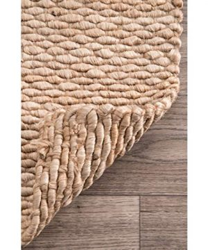 NuLOOM Hailey Handwoven Jute Rug 5 X 8 Natural 0 2 300x360