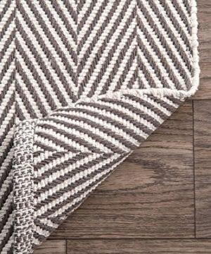 NuLOOM Kimberely Hand Loomed Area Rug 4 X 6 Grey 0 1 300x360