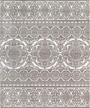 NuLOOM Laicie Floral Area Rug 4 X 6 Beige 0 0 300x360