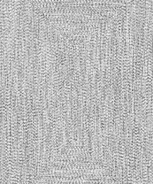 NuLOOM Lefebvre Braided IndoorOutdoor Area Rug 3 X 5 Light GreySalt And Pepper 0 0 300x360