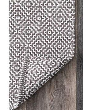 NuLOOM Lorretta Hand Loomed Area Rug 4 X 6 Grey 0 1 300x360
