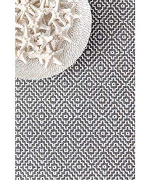 NuLOOM Lorretta Hand Loomed Area Rug 4 X 6 Grey 0 4 300x360