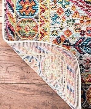 NuLOOM Meadow Vintage Vibrant Area Rug 3 X 5 Black 0 2 300x360