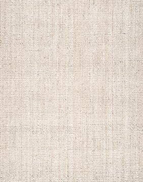 NuLOOM Natura Collection Chunky Loop Jute Rug 3 X 5 Off White 0 0 282x360