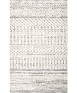 NuLOOM Nova Stripes Area Rug 8 X 10 Grey 0 0 300x360