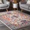 NuLOOM Oasis Collection Area Rug 8 X 10 Ivory 0 100x100