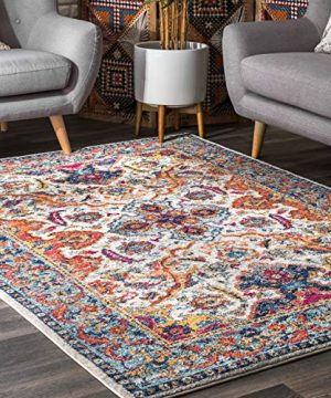 NuLOOM Oasis Collection Area Rug 8 X 10 Ivory 0 300x360