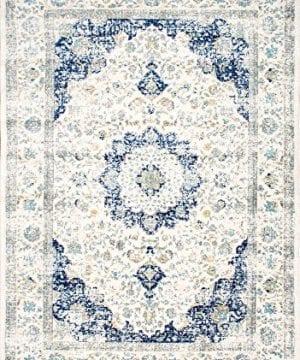 NuLOOM Paisley Verona Vintage Persian Area Rug 3 X 5 Blue 0 0 300x360