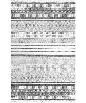 NuLOOM Raina Flatweave Area Rug 4 X 6 Grey 0 0 300x360