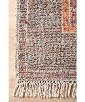 NuLOOM Sigrid Flatweave Vintage Jute Area Rug 4 X 6 Multi 0 2 300x360