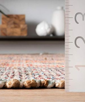 NuLOOM Sigrid Flatweave Vintage Jute Area Rug 4 X 6 Multi 0 4 300x360