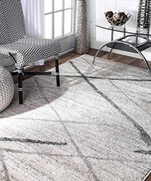 NuLOOM Thigpen Contemporary Area Rug 3 X 5 Gray 0 300x360