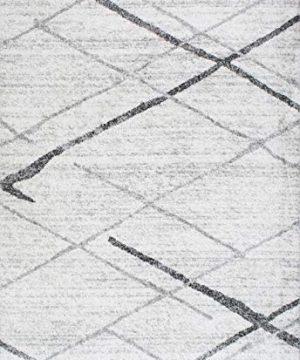 NuLOOM Thigpen Contemporary Area Rug 5 X 8 Grey 0 0 300x360