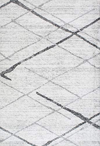 NuLOOM Thigpen Contemporary Area Rug 5 X 8 Grey 0 0