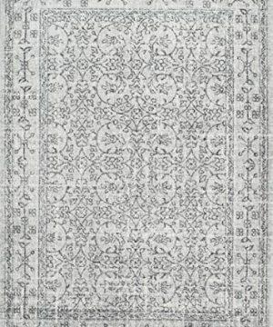 NuLOOM Waddell Vintage Area Rug 8 X 10 Grey 0 0 300x360