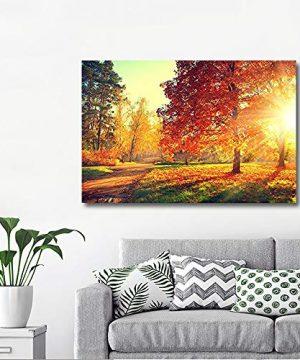 Wall26 Autumn Scene Fall Canvas Art Wall Decor 32 X 48 0 0 300x360