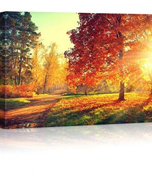 Wall26 Autumn Scene Fall Canvas Art Wall Decor 32 X 48 0 300x360