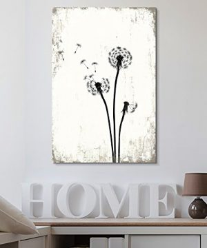 Wall26 Dandelion Seeds On Rustic Background Canvas Art Wall Decor 24x36 0 300x360