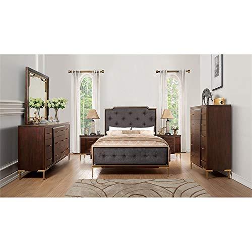 ACME Furniture Inverness Desk Reclaimed Oak 0 1