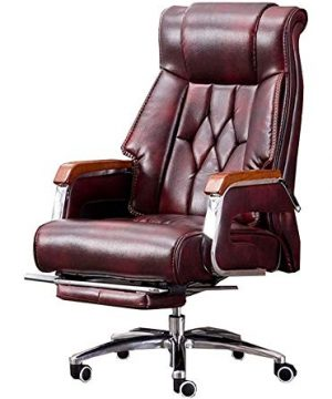 AGTRRYHZ Executive Office Chair Swivel Desk Chair Gaming Chair Office Desk Computer Chairs Boss Chair Leather Chair Manager Chair Massage Chair 0 300x360