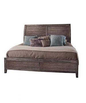 Aurora Weathered Gray Queen Sleigh Bed 0 300x360