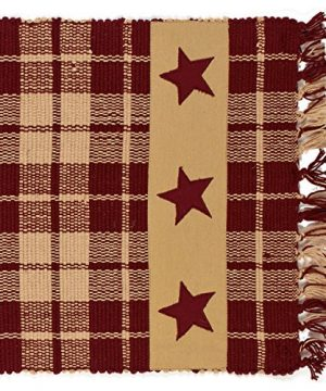Burgundy Farmhouse Star 54 Table Runner 0 300x360
