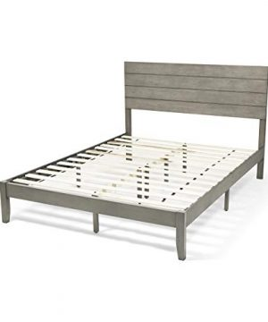 Christopher Knight Home Apollo Queen Size Bed With Headboard Natural And Gray Finish 0 300x360