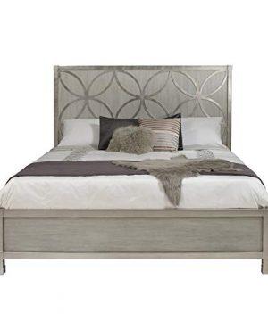Delacora D199 BR K6 HM D199 BR K6 Lola King Wood PanelPlatform Quatrefoil Bed 0 300x360