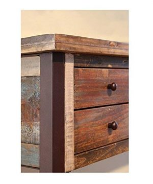 Duplicate Listing Crafters Weavers Rustic Antique Style Desk Library Table With Multi Color Finish 0 1 300x360