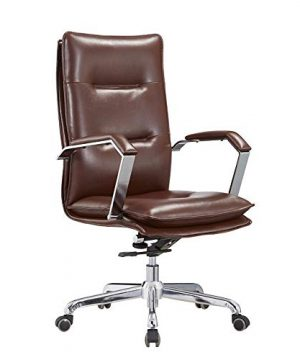 EAHKGmh Ergonomic Office Chair Computer Chair Swivel Desk Chair Rotating Boss Executive Chair Simple Modern Lounge High Back Chair Task Chair 0 300x360
