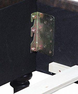 Eagle Furniture Jayden Tufted Upholstered Platform Bed With Nail Head Detailing Queen Sandstone 0 1 300x360