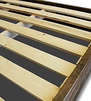 Farmhouse Bed Frame And Headboard SetReclaimed StyleRustic And Old World 0 1 300x333