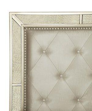 Furniture Of America Hanson Modern Victorian Platform Bed Queen Silver 0 0 300x360