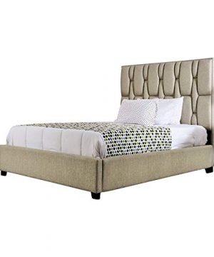 Furniture Of America Hixon Modern Full Bed In Beige 0 300x360